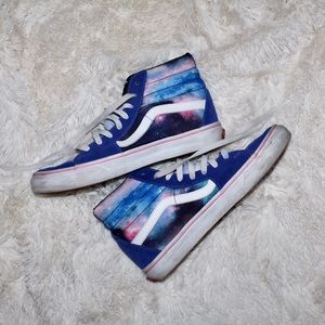 Custom Galaxy High Top Vans